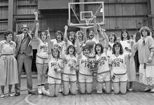 The 1987 girls team