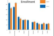 The school enrollment gap