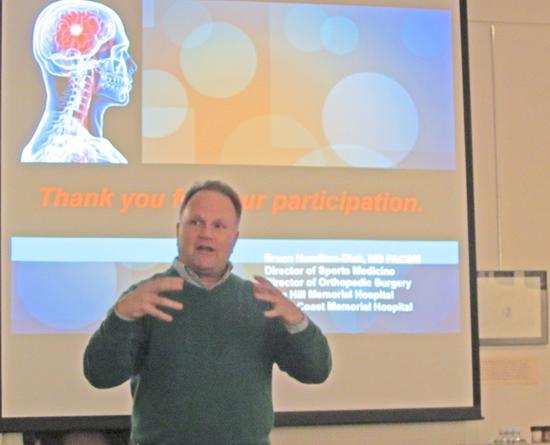 BHMH's Dr. Bruce Hamilton
