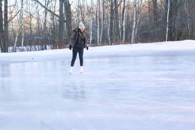 Quiet time on the ice