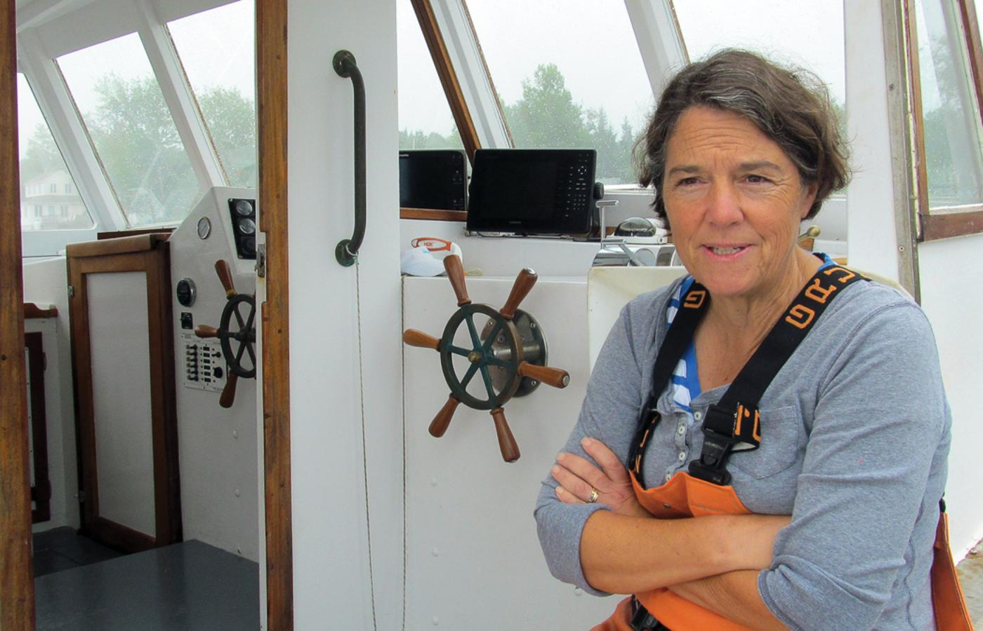 Captain Linda Greenlaw Wessel Navigates A Life At Sea