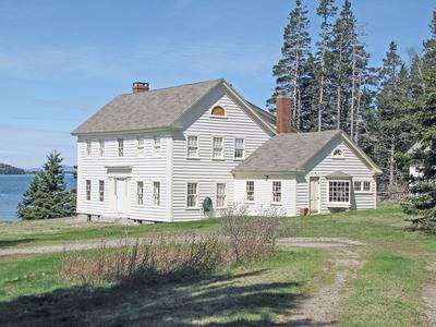 The White House of Sunset, Maine