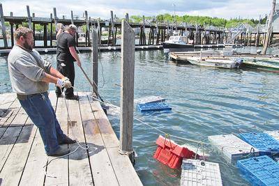 Stonington's working waterfront