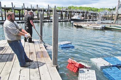 Stonington's working waterfront