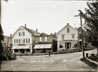 Historic post cards of Maine
