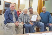 Castine's oldest citizen honored