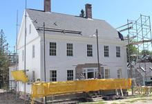 Historic renovation in Castine