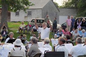 Castine Town Band plays in honor of new Education Center
