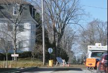 Street width in legal limbo