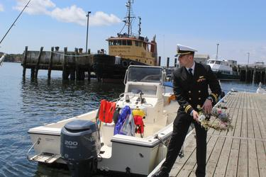 Honoring those lost at sea