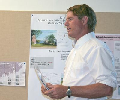 Castine resident and residential designer Ted Lameyer
