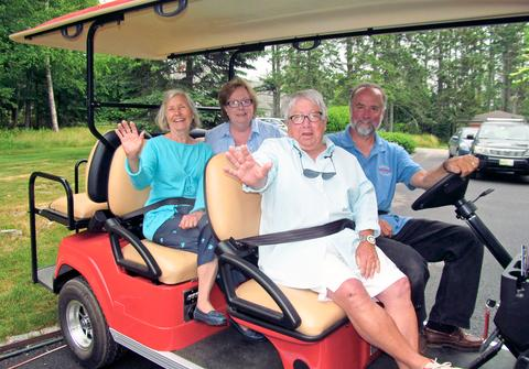 Vehicle tours come to Castine