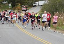 Runners on the course