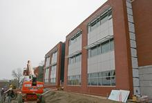 The ABS Center, under construction