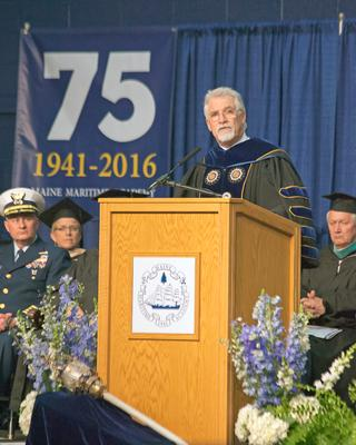 Leading 2016 commencement