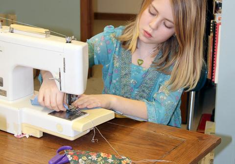 Sewing in silence