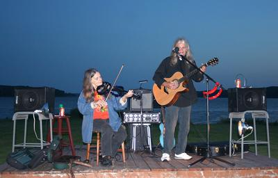 Susie and Mike Fay perform at Penobscot Days