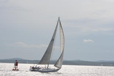 'Whisper' races in Castine