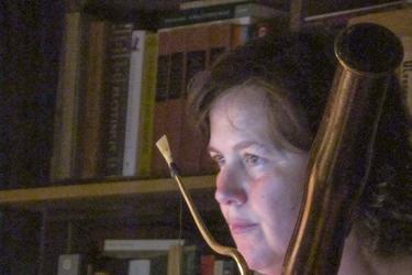 Leslie Ross on bassoon