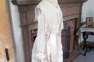 The Penobscot Historical Society displays a dress from 1917