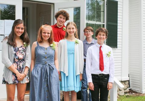Adams School graduates