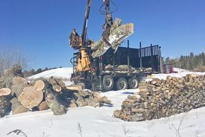 Offloading logs