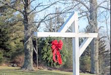 Roadside wreath