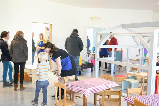 Learning Place community comes together at open house