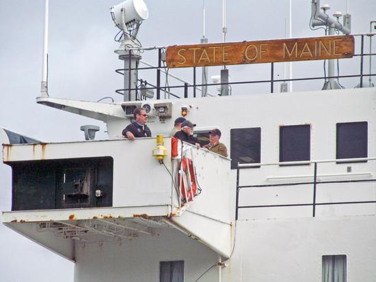 President on board