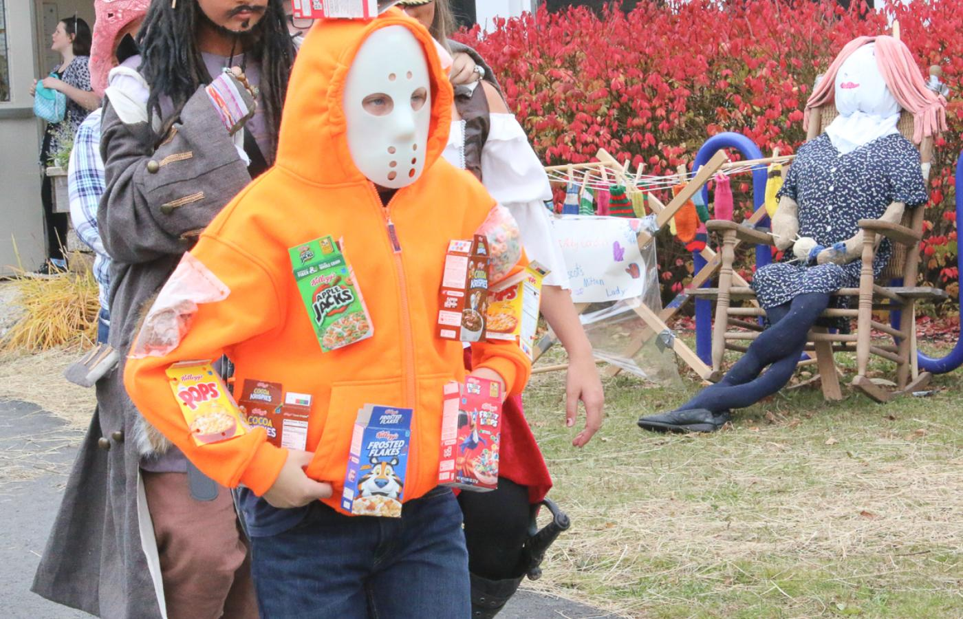 Students Celebrate Halloween With Parades Haunted House
