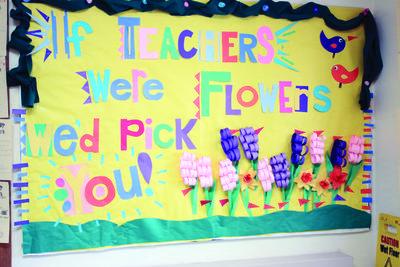 'If teachers were flowers'
