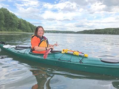 Kayaking the Bagaduce