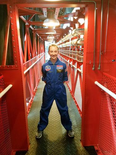 A future astronaut