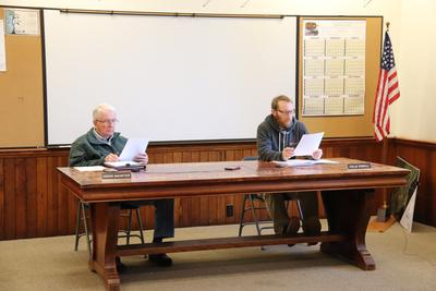 Castine closes town hall
