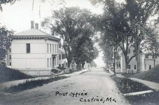 Castine Post Office-then