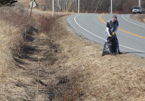 Spring clean up begins in Castine