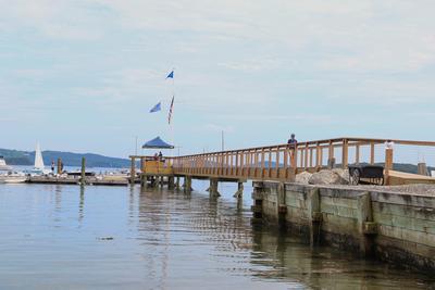 Castine Yacht Club enjoys new pier