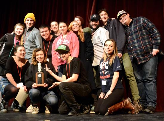 DISHS drama team competes in regional festival