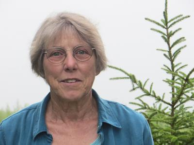 Author and naturalist Kathie Fiveash