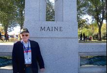 Island veteran represents Maine