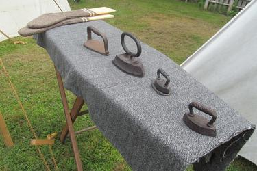 Civil War era irons