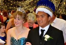 King Krisford Melanio and Queen Ali Eaton