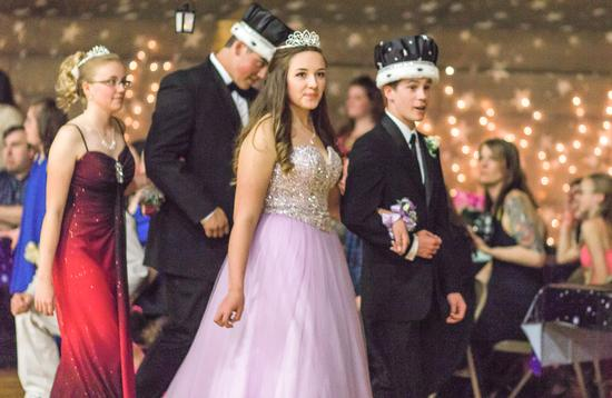 Prom King and Queen