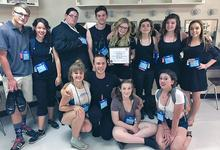 DISHS students at International Thespian Festival