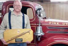 Stonington fire department honors long-time volunteer