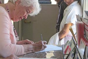 A meeting on the Stonington Post Office's future