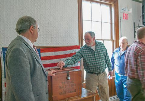 Stonington holds annual town meeting