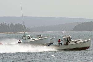 Whiskey-Tango_Foxtrot a winner at Stonington Lobster Boat Races