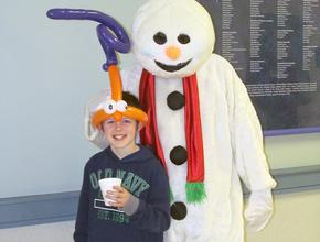 What Winterfest would be complete without a snowman?