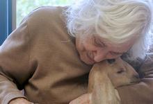 Pet Day at Island Nursing Home